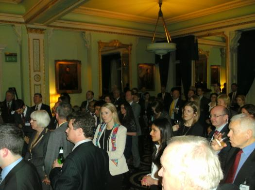 A great evening of networking was held at the East India Club on 6 December