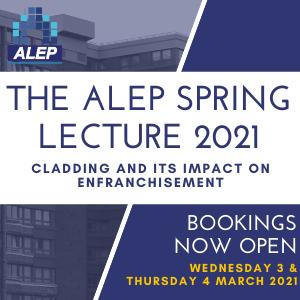 The ALEP Spring Lecture 2021 - BOOK NOW!