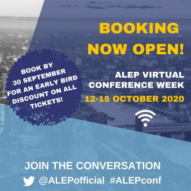 ALEP Virtual Conference 2020 - BOOK NOW