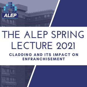 ALEP's Annual Lecture on Cladding and Enfranchisement  Continues Online Success
