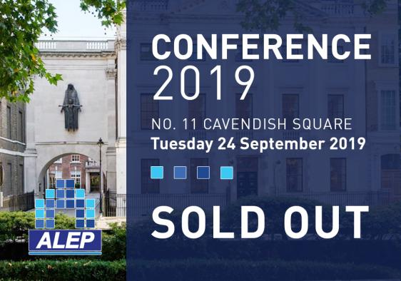 ALEP Conference - SOLD OUT!