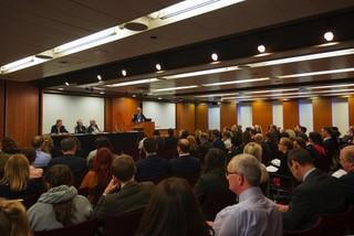 Sell-out ALEP lecture debates all aspects of Commonhold as call for evidence is announced